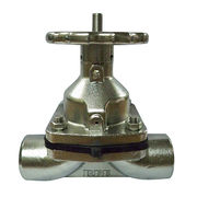Diaphragm Valve Butt Weld Schedule 40 Stainless St from India