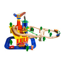 Baby toy wooden mini train Manufacturer