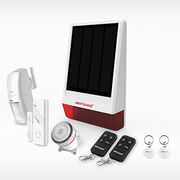 China Wireless gsm solar-powered sms alarm system