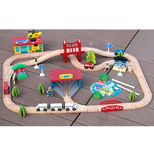 China Kids wooden classic toy train