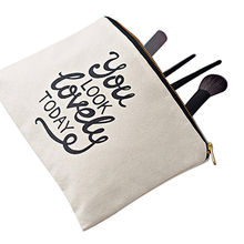 Cosmetic drawstring bags from India
