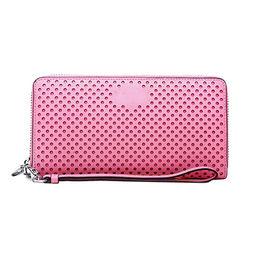 ... China PINK wallet case PU leather fashion custom brand