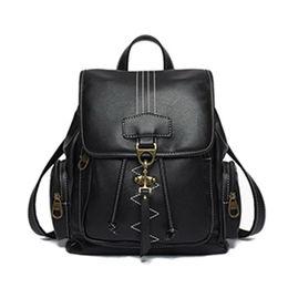 Vintage PU Shoulder Backpack Ladies Fashion Daypac Manufacturer