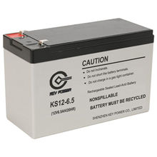 China 12V6.5Ah rechargeable AGM battery