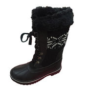 Women's high ankle fashion snow boots from China (mainland)