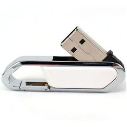 Capacity 2GB, Gift Retractable USB Flash Drive with Customized Logo from Memorising Tech Limited