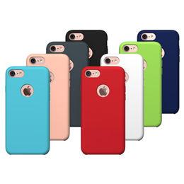 Liquid silicone phone case for iPhone 7