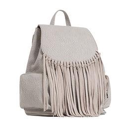 PU tassel women backpack Manufacturer