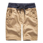 China Men's clothing 100% cotton swimming beach boys' cargo shorts & pants