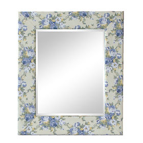 Modern Fashion Room wall wood framed mirrors from China (mainland)