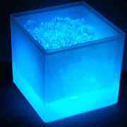 LED ice bucket with different colors