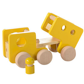 2016 wholesale baby wooden truck toy