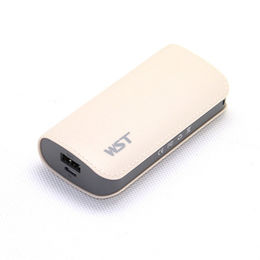 Leather mini power gift promotion power bank from Hong Kong SAR