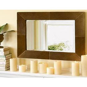 Modern Elegant wall wooden framed mirror from China (mainland)