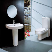 China Pedestal Bathroom Sink