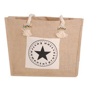 Eco-friendly Natural Jute Bags from China (mainland)