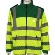 Fleece jacket from China (mainland)