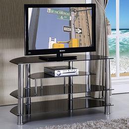 china glass tv stand modern
