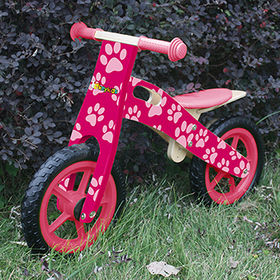 2016 new design wooden children bicycle for 4 years old child W16C146