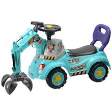 excavator kids car toy ride on slide car from China (mainland)