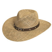 Men's straw hats from Hangzhou Willing Textile Co. Ltd