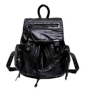 Synthetic leather laptop backpacks from Hong Kong SAR