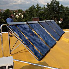 China Solar water heater collector