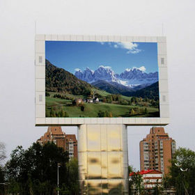Outdoor P6.25 LED screen from China (mainland)