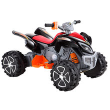 Electronic children red quad bikes Manufacturer