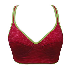 China Women sports bras and yoga wear front closure