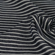 Vertical stripes Stretch denim fabric from Ningbo Nanyan Import & Export Co. Ltd