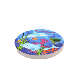 New Polyresin 3D Printing Coaster with Dolphin design for Souvenir Gifts,ODM/OEM are Welcome