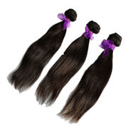Top Grade Virgin Indian Straight Human Hair Weave from China (mainland)
