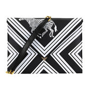 China Cool Zebra Print Clutch Bag Ladies PU Shoulder Bag