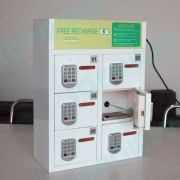 China 6 Bay Cell Phone/tablet Charging Station/kiosk With Pin Pad Lock