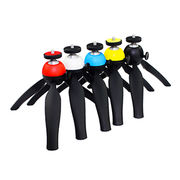 Portable Camera Tripod with Stainless Steel Inner Ball and ABS Plastic Housing