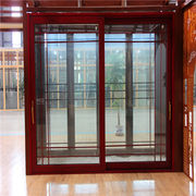 Alu-wood combined wood frame door sliding door from China (mainland)