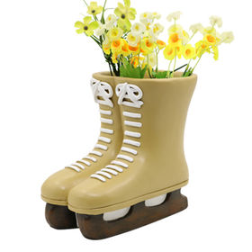 2016 New Resin Fascinating Skating Boot Flower pot from China (mainland)