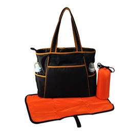 Polyester waterproof baby diaper bags from China (mainland)