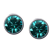 Fashionable Design Platinum Plated for Women's Austria Crystal stud Earrings