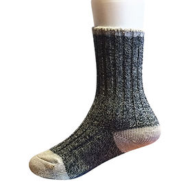 Marled yarn socks from China (mainland)