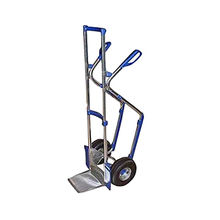 Oxygen gas cylinder hand trolley from India