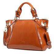 Latest fashion PU handbag, ladies' handbag, big handbag with strong handle and metal closed from Iris Fashion Accessories Co.Ltd
