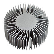 China Extruded heat sink for computer graphic card
