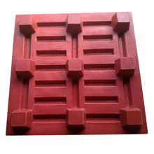 Four-way Roto Molded Plastic Pallets from India