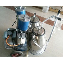 Piston Type Double Bucket Cow Milking Machine from India