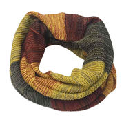 Multiple Colors Knitted Acrylic Snood, American Style