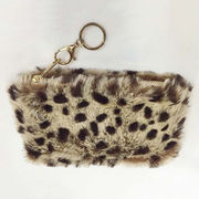 China Leopard Faux Fur Clutch Bags