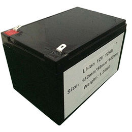 12V 12Ah lithium battery UPS EPS battery solar sys from China (mainland)