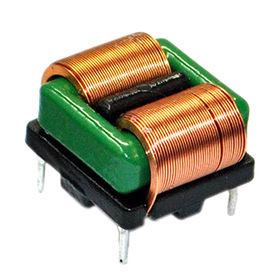 Flat Wire High Current Common Mode Choke Coils with Large Current, Available in Various Sizes